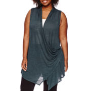Worthington® Transforming Cozy Vest - Plus