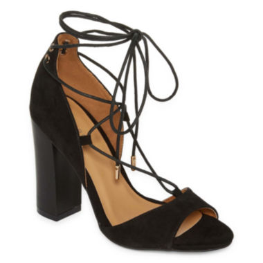 jcpenney.com | Bamboo Embark Lace-Up Dress Sandals
