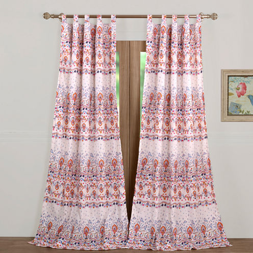 Barefoot Bungalow Amber Tab-Top Curtain Panel