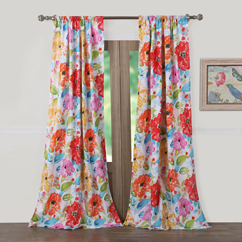Barefoot Bungalow Esme Rod-Pocket Curtain Panel