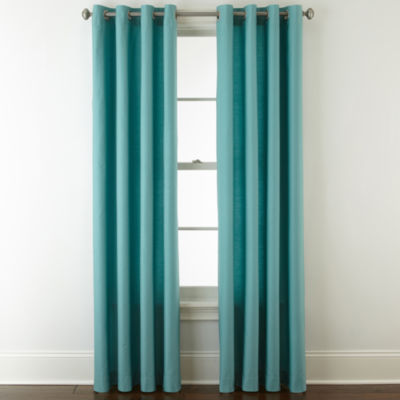 JCPenney Home Verona Grommet Top Curtain Panel