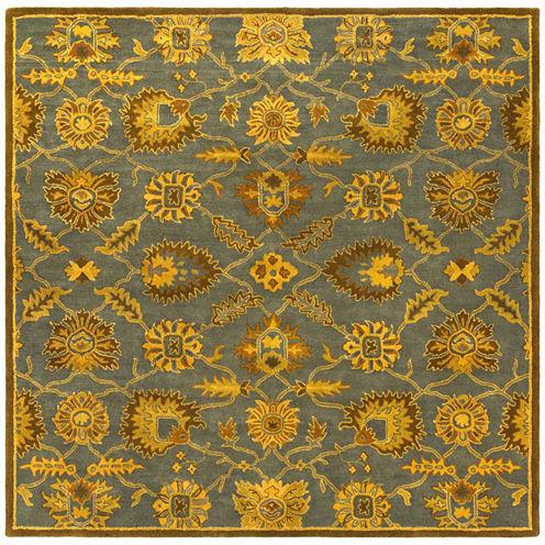 Decor 140 Eckbert Hand Tufted Square Rugs