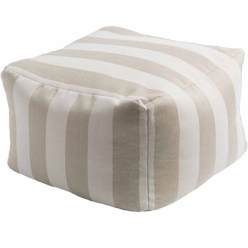 Decor 140 Ansdell Solid Pouf Ottoman