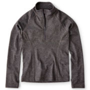 Joe Fresh™ Half-Zip Yoga Top - Girls 4-14