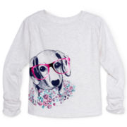 Arizona Long-Sleeve Graphic Tee - Girls 12m-6y