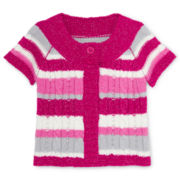 Arizona Soft Sweater Cardigan - Girls 12m-6y