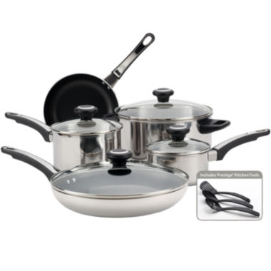 jcpenney.com | Farberware® 12-pc. High Performance Stainless Steel Cookware Set