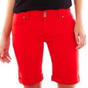 Levi's 512 Denim Bermuda Shorts - Petite