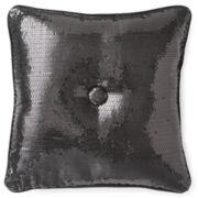 Seventeen® Sequin Square Decorative Pillow