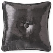 Seventeen® Pink Sequin Decorative Pillow