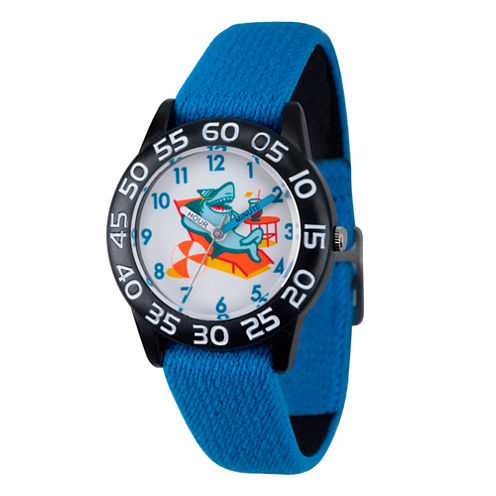 Discovery Kids® Blue and Black Shark Watch