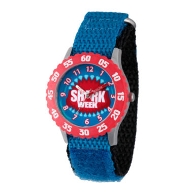 jcpenney.com | Discovery Kids® Blue and Red Shark Week Watch