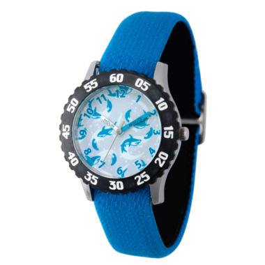 jcpenney.com | Discovery Kids® Blue and Black Multi-Shark Watch