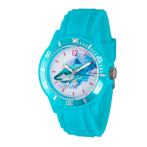 Discovery Expedition Womens Turquoise Shark Watch