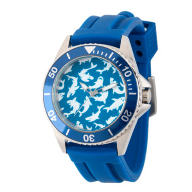 jcpenney.com | Discovery Expedition Mens Blue and White Shark Watch
