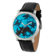 Discovery Expedition Mens Black and Silver Shark Watch