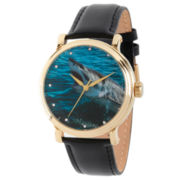 Discovery Expedition Mens Gold and Black Shark Watch