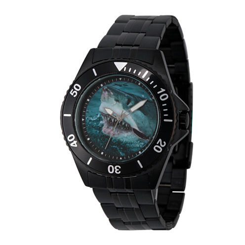 Discovery Expedition Black Shark Bracelet Watch