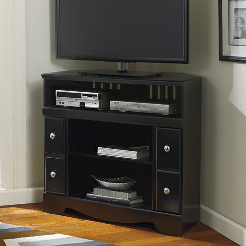 "Signature Design by Ashley® Shay 36"" Corner TV Stand"