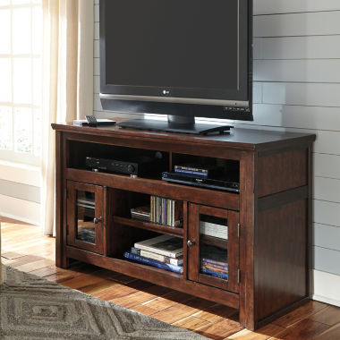 "jcpenney.com | Signature Design by Ashley® Harpan 55"" TV Stand"