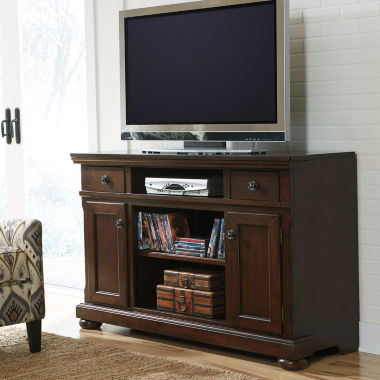 "jcpenney.com | Signature Design by Ashley® Porter 56"" TV Stand"