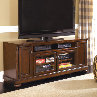 "jcpenney.com | Signature Design by Ashley® Porter 72"" TV Stand"