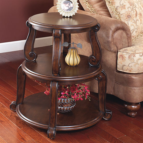 Signature Design by Ashley® Brookfield Shelf End Table