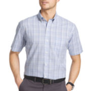 Van Heusen® Short-Sleeve Luxe Touch Easy Care Woven Shirt