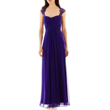 jcpenney.com | Scarlett Sleeveless Lace-Shoulder Formal Gown
