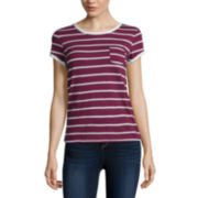 Arizona Short-Sleeve Striped Ringer Tee
