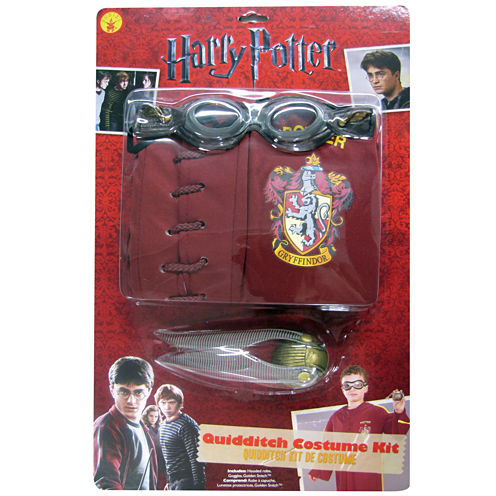 Harry Potter - Quidditch Child Costume Kit - One Size (Standard)