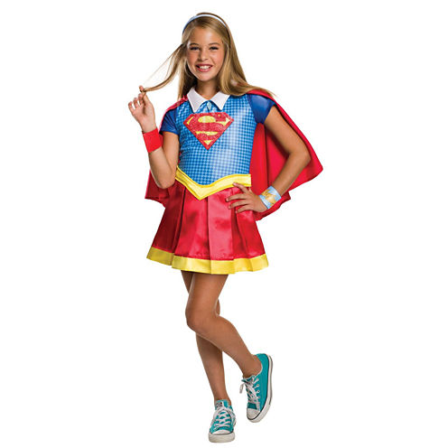 DC Superhero Girls: Supergirl Deluxe Child CostumeS