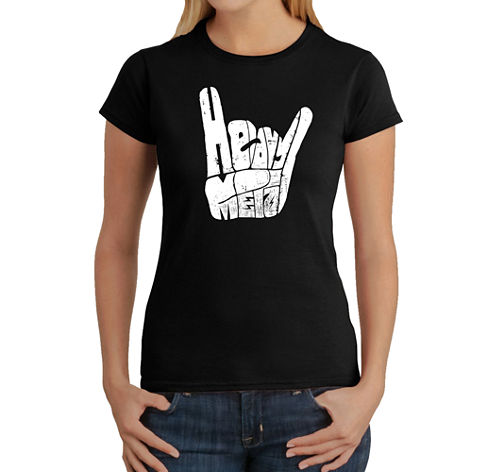 Los Angeles Pop Art Heavy Metal Graphic T-Shirt