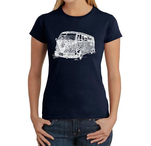 Los Angeles Pop Art The 70'S Graphic T-Shirt