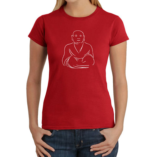 Los Angeles Pop Art Positive Wishes Graphic T-Shirt