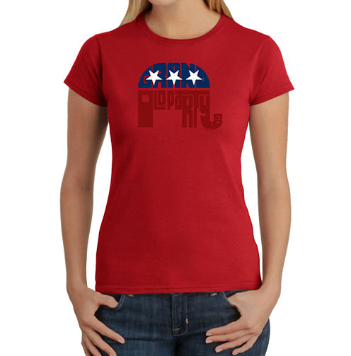 Los Angeles Pop Art Republican - Grand Old Party Graphic T-Shirt