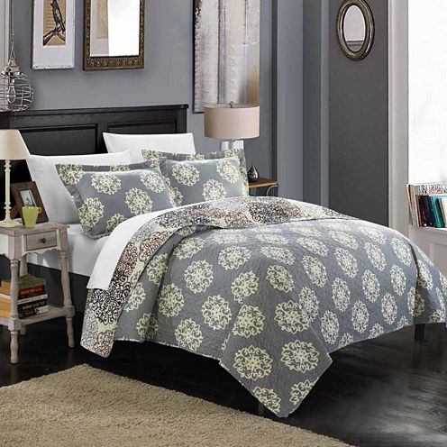 Chic Home Kelsie Quilt Set