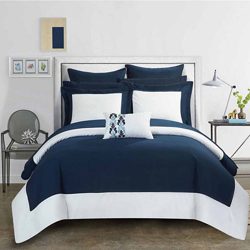 Chic Home Peninsula Midweight Comforter Set