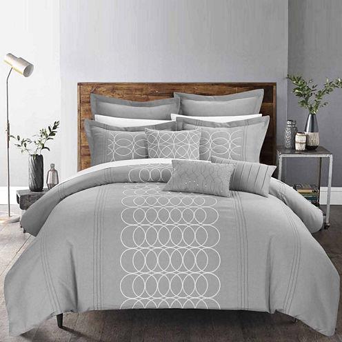 Chic Home Moderna 8-pc. Midweight Comforter Set