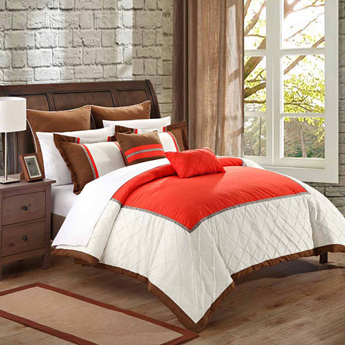 Chic Home Greensville 11-pc. Midweight Comforter Set