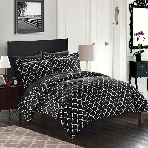 Chic Home Heather Midweight Reversible Comforter Set