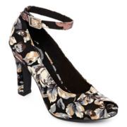 K9 by Rocket Dog® Jaguar Peep-Toe Pumps