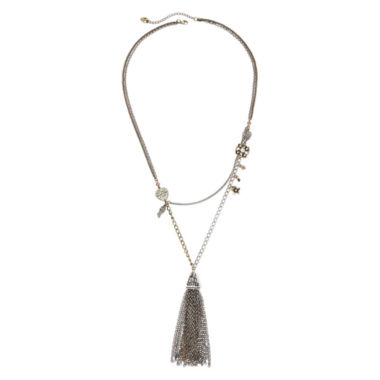 jcpenney.com | Messages from the Heart® by Sandra Magsamen® Tassel Necklace