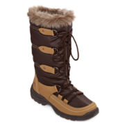 totes® Emily Lace-Up Waterproof Womens Cold Weather Boots