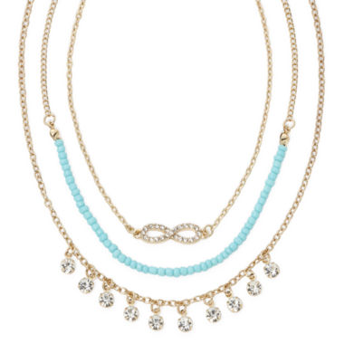 jcpenney.com | Decree® Seed Bead Drape Necklace