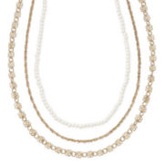 Carole Three-Row Choker Necklace