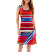 MSK Sleeveless Tank Shift Dress - Petite