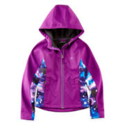 Vertical 9 Soft Shell Hooded Jacket - Girls 7-16
