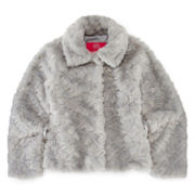 Weatherproof Cropped Faux-Fur Jacket - Girls 7-16