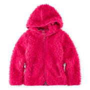 Weatherproof Hooded Faux-Fur Jacket - Girls 7-16